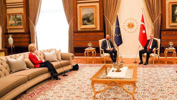 Von Der Leyen Erdogan Michel