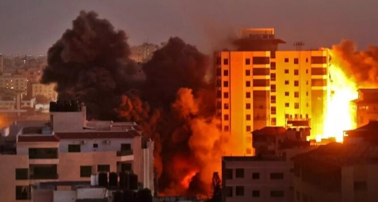 Israele contro hamas scontri gerusalemme