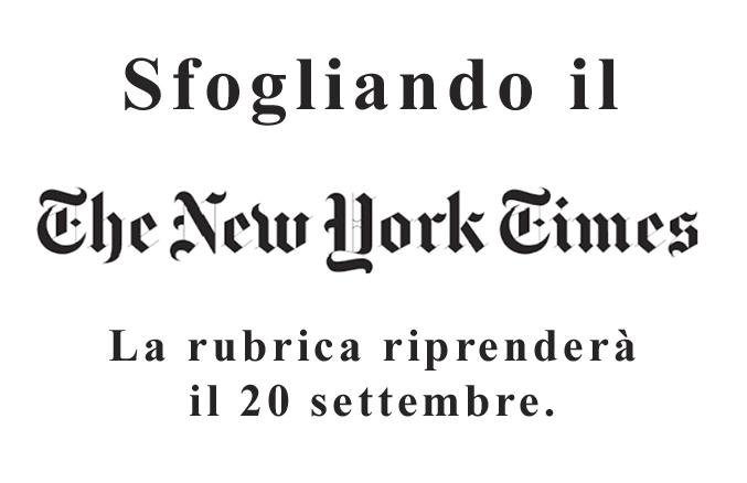 Rubrica New York Time