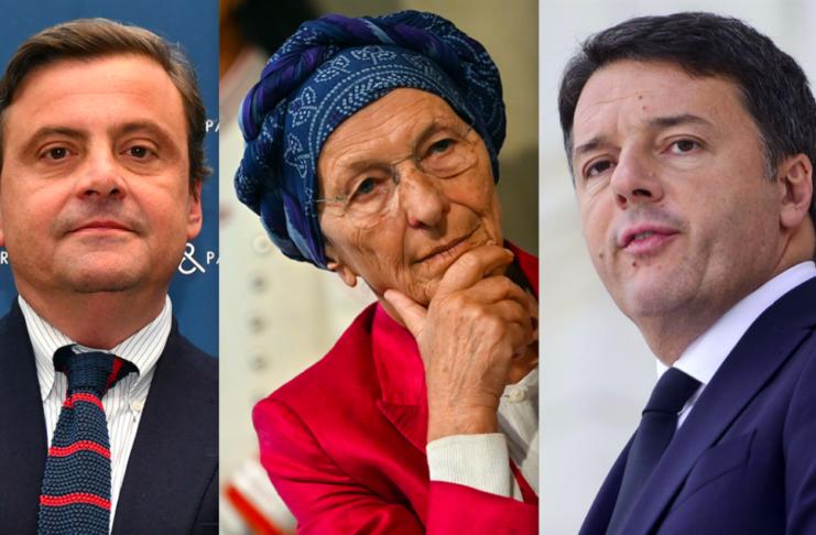 Calenda Bonino Renzi