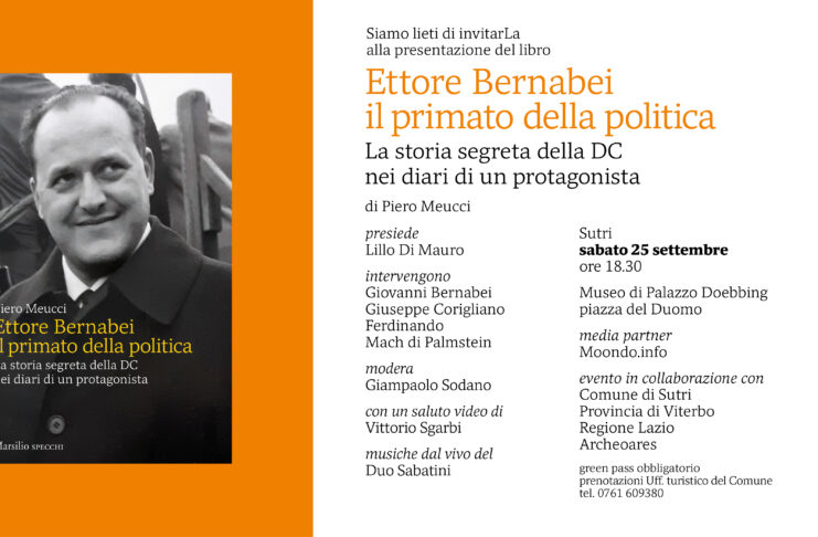 presentazione libro su Ettore Bernabei Sutrii