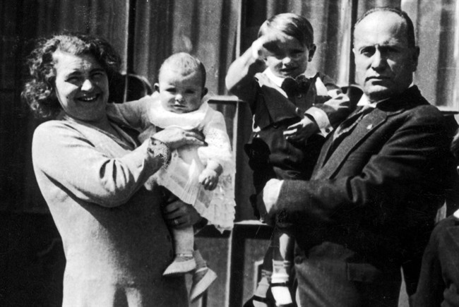 Rachele Guidi e Benito Mussolini