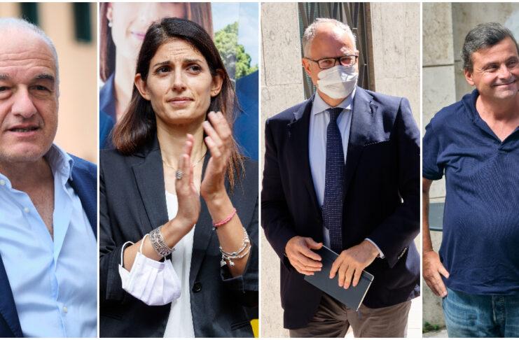 I candidati sindaco di Roma alle elezioni del 3 ottobre 2021