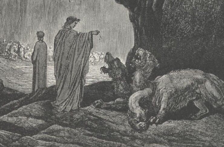 Dante incontra Cerbero